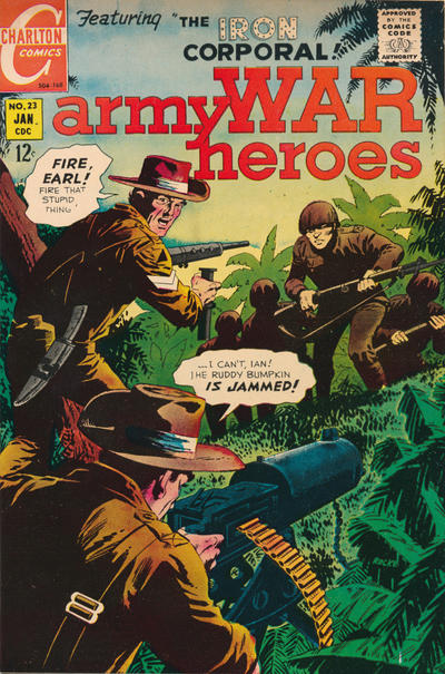 Cover for Army War Heroes (1963 series) #23
