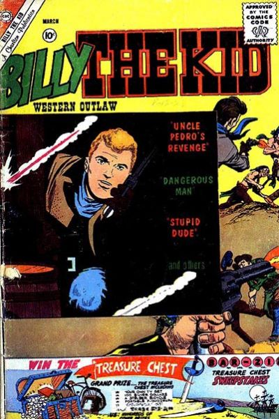 Cover for Billy the Kid (1957 series) #27