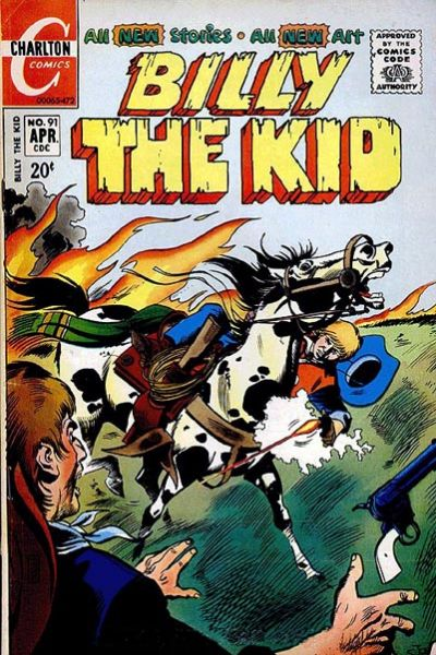 Cover for Billy the Kid (Charlton, 1957 series) #91