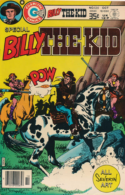 Cover for Billy the Kid (Charlton, 1957 series) #125