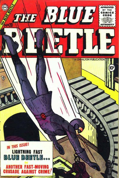 Cover for Blue Beetle (Charlton, 1955 series) #20