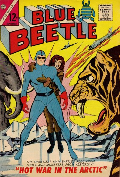 Cover for Blue Beetle (1964 series) #2