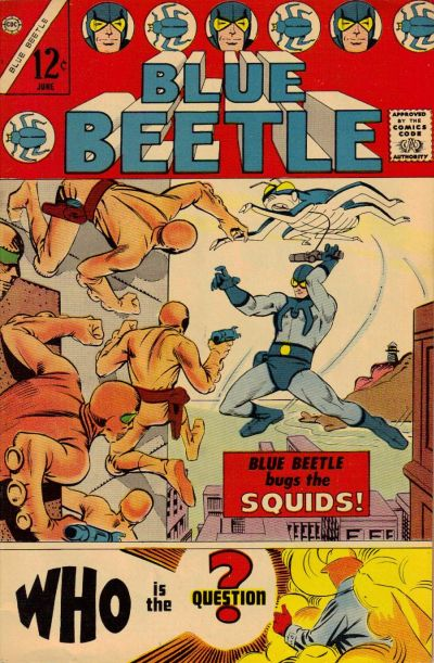 Cover for Blue Beetle (Charlton, 1967 series) #1