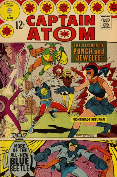 Cover for Captain Atom (Charlton, 1965 series) #85