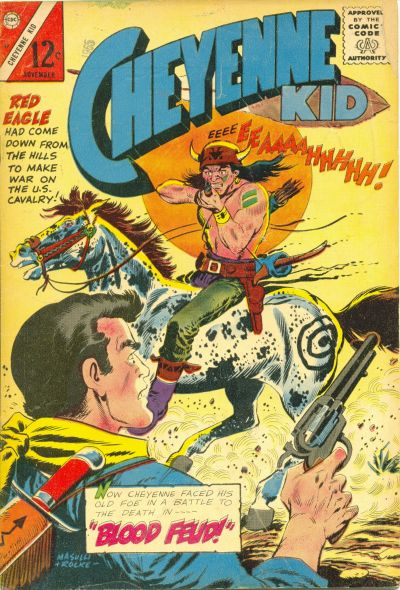 Cover for Cheyenne Kid (Charlton, 1957 series) #53
