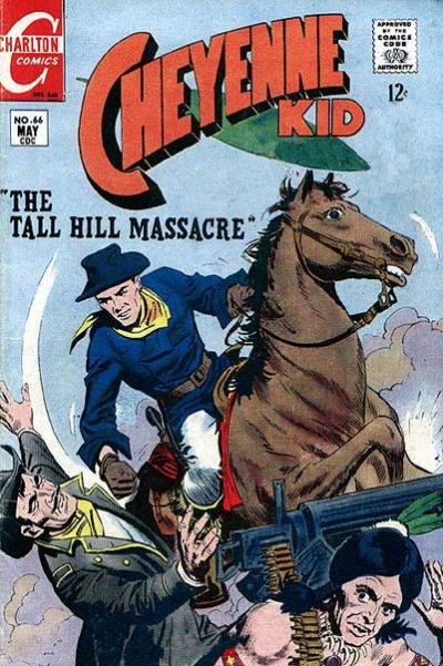 Cover for Cheyenne Kid (Charlton, 1957 series) #66