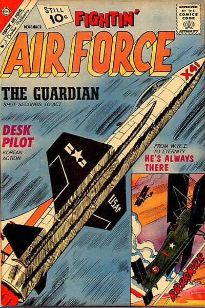 Cover for Fightin' Air Force (Charlton, 1956 series) #30
