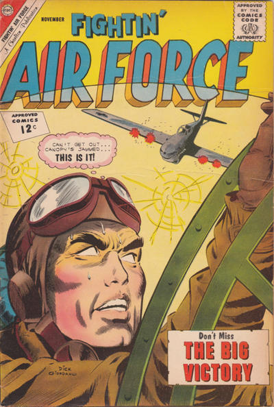 Cover for Fightin' Air Force (Charlton, 1956 series) #35