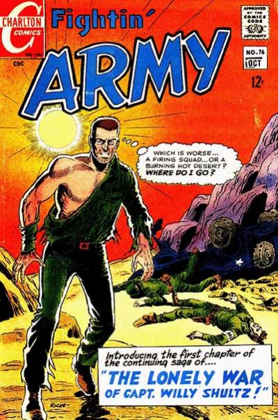 Cover for Fightin' Army (Charlton, 1956 series) #76
