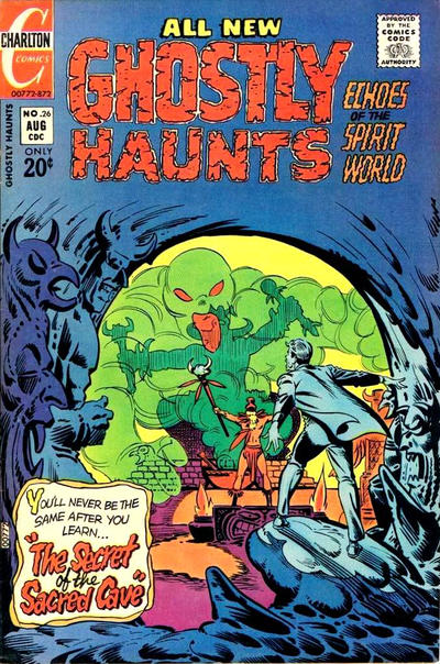 Cover for Ghostly Haunts (Charlton, 1971 series) #26