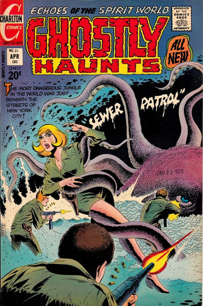 Cover for Ghostly Haunts (Charlton, 1971 series) #31
