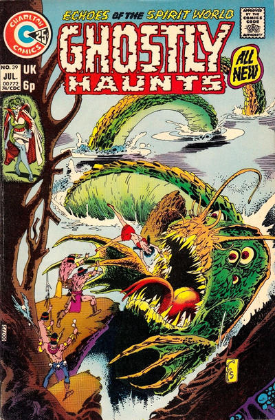 Cover for Ghostly Haunts (Charlton, 1971 series) #39