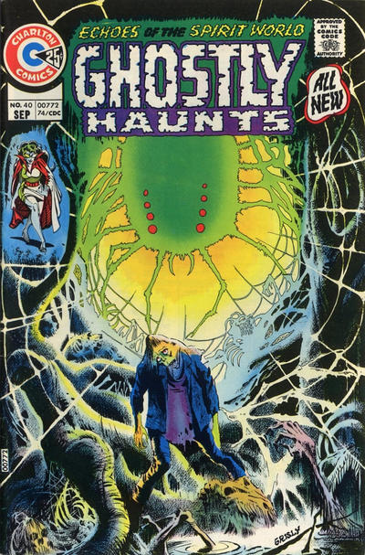 Cover for Ghostly Haunts (Charlton, 1971 series) #40