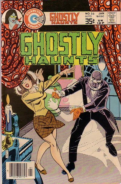 Cover for Ghostly Haunts (1971 series) #56