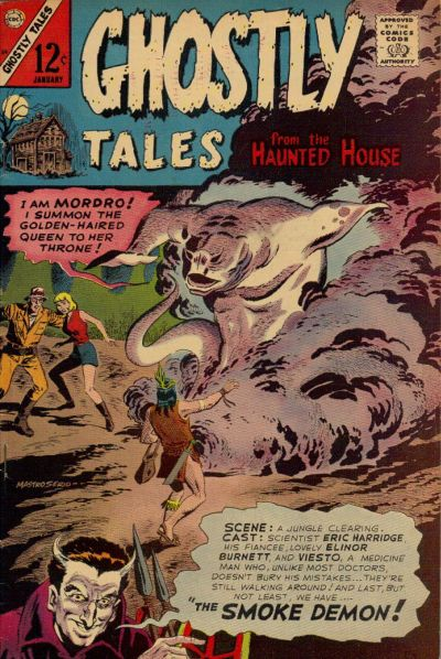 Cover for Ghostly Tales (Charlton, 1966 series) #59