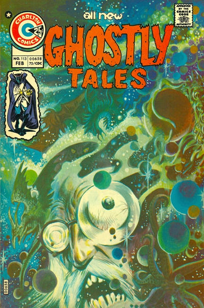 Cover for Ghostly Tales (1966 series) #113