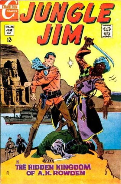 Cover for Jungle Jim (Charlton, 1969 series) #24