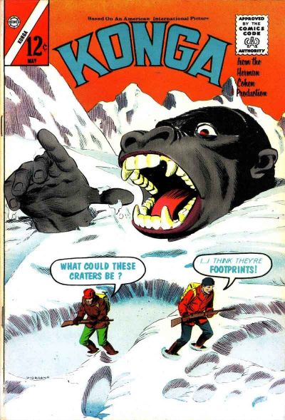 Cover for Konga (Charlton, 1960 series) #12