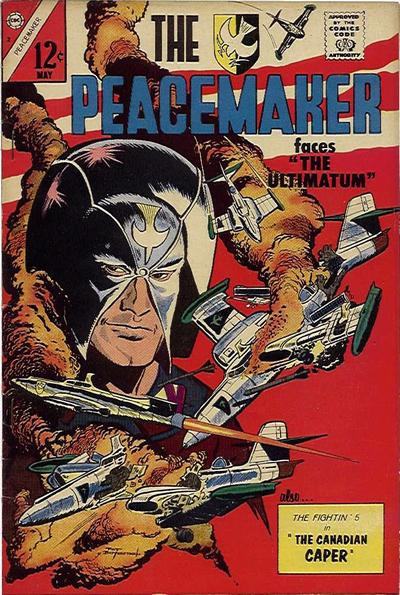 Cover for The Peacemaker (Charlton, 1967 series) #2