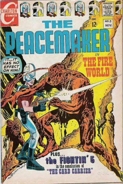 Cover for The Peacemaker (Charlton, 1967 series) #5