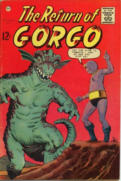 Cover for The Return of Gorgo (1963 series) #2