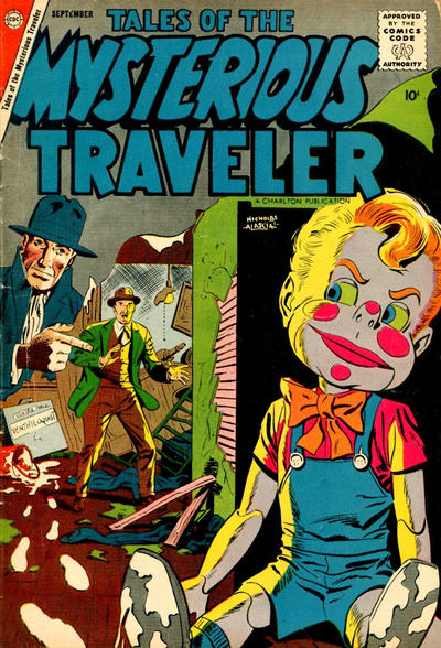 Cover for Tales of the Mysterious Traveler (Charlton, 1956 series) #9