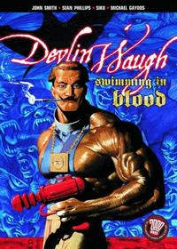 Cover Thumbnail for Devlin Waugh: Swimming in Blood (DC, 2004 series)