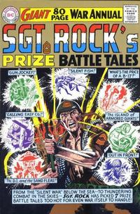 Cover Thumbnail for Sgt. Rock's Prize Battle Tales Replica Edition (DC, 2000 series) #1