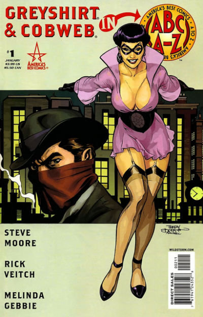 Cover for ABC: A-Z, Greyshirt and Cobweb (DC, 2006 series) #1