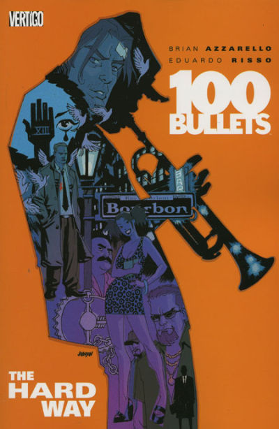 Cover for 100 Bullets (DC, 2000 series) #8 - The Hard Way