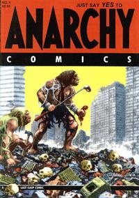 Cover for Anarchy Comics (Last Gasp, 1978 series) #4