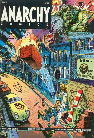 Cover for Anarchy Comics (Last Gasp, 1978 series) #3