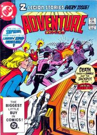 Cover Thumbnail for Adventure Comics (DC, 1938 series) #496 [Direct-Sales Variant]