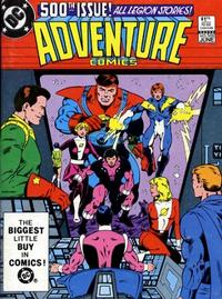 Cover Thumbnail for Adventure Comics (DC, 1938 series) #500 [Direct-Sales]