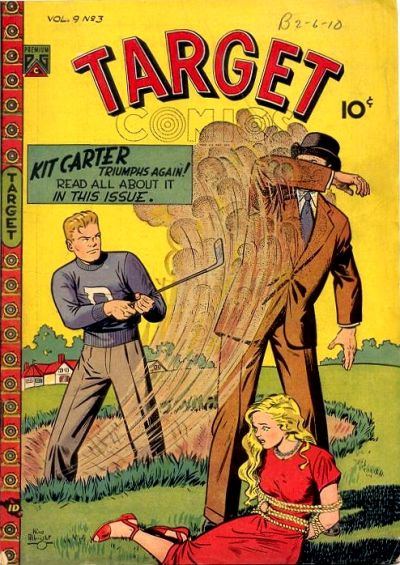 Cover for Target Comics (Cosmicolor Publishing, 1948 series) #v9#3