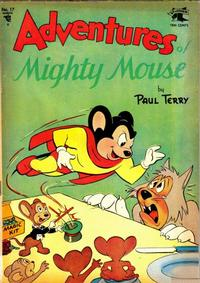 Cover Thumbnail for Adventures of Mighty Mouse (St. John, 1952 series) #17