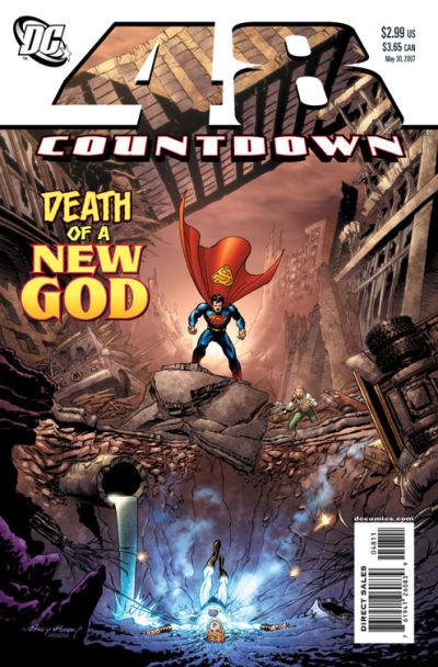 Cover for Countdown (DC, 2007 series) #48