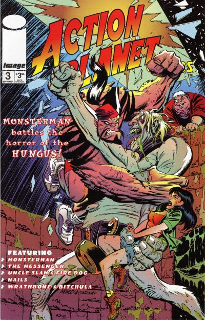 Cover for Action Planet Comics (Image, 1996 series) #3