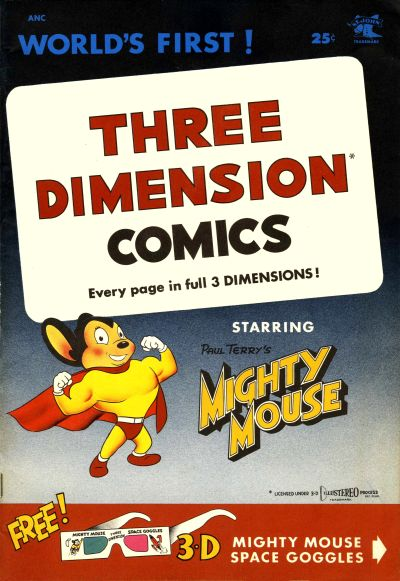 Cover for Three Dimension Comics (1953 series) #1