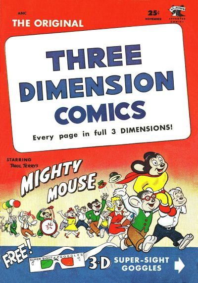 Cover for Three Dimension Comics (St. John, 1953 series) #2