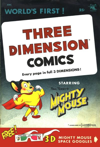 Cover for Three Dimension Comics (1953 series) #1a