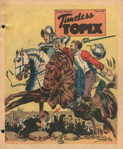 Cover for Timeless Topix (Catechetical Guild Educational Society, 1942 series) #v4#7