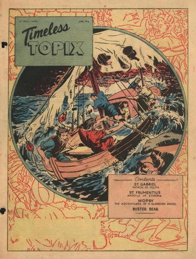 Cover for Timeless Topix (Catechetical Guild Educational Society, 1942 series) #v4#10
