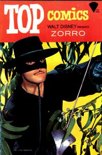 Cover Thumbnail for Top Comics Walt Disney Presents Zorro (Western, 1967 series) #2