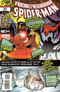 Cover Thumbnail for Friendly Neighborhood Spider-Man (Marvel, 2005 series) #24 [Direct Edition]