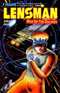 Cover Thumbnail for Lensman: War of the Galaxies (Malibu, 1990 series) #1