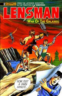 Cover Thumbnail for Lensman: War of the Galaxies (Malibu, 1990 series) #2