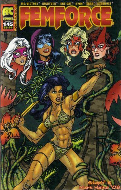 Cover for FemForce (1985 series) #145