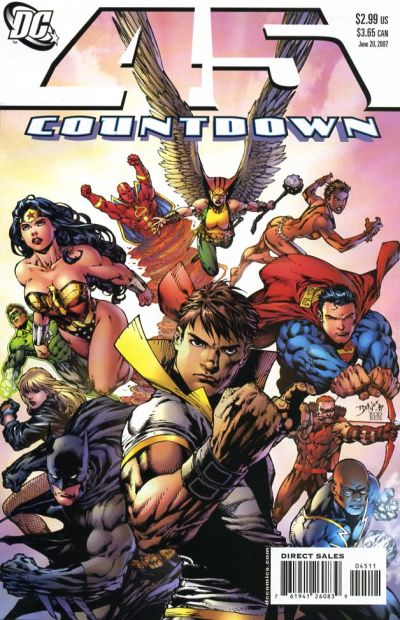 Cover for Countdown (DC, 2007 series) #45