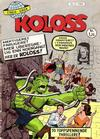 Cover for Koloss (Se-Bladene, 1968 series) #5/1968